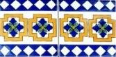 """Collectible border tiles, accent decorative tiles for showers, bath tubs, hot tubs, mantels, door surround."""